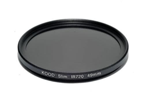 Kood IR720  Infrared Special Effects Slim Ring Filter 49mm